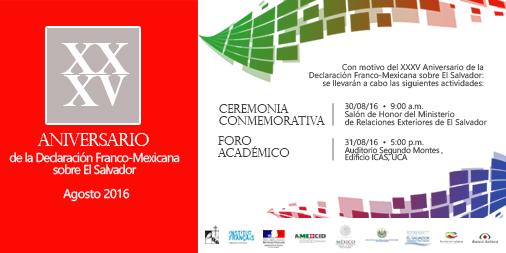 Xxxv anniversaire de la d claration franco mexicaine la - Chambre de commerce franco mexicaine ...