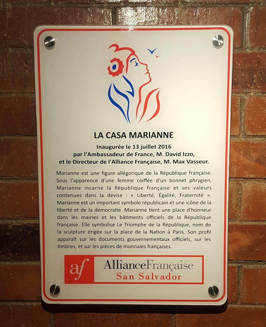 Bapt me de la maison marianne de l 39 alliance fran aise for La casa stupefacente progetta l australia
